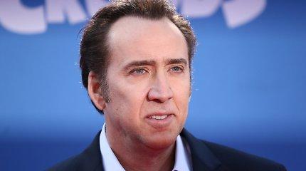 Neblaivus aktorius Nicolas Cage'as išmestas iš restorano ir palaikytas benamiu