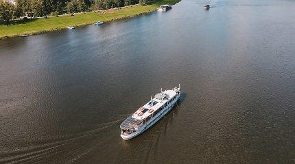 Birštone atidaryta keleivinių laivų prieplauka: investavo 20 tūkst. eurų