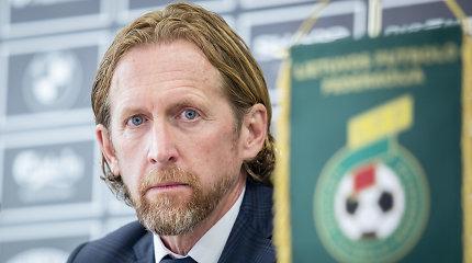 Lietuvos futbolą iš istorinių žemumų trauks belgas