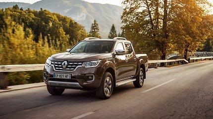 """""""Renault Alaskan"""": darbo bekelėje nebijantis miestietis"""