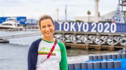 Viktorija Andrulytė įspūdingai finišavo olimpiniuose vandenyse