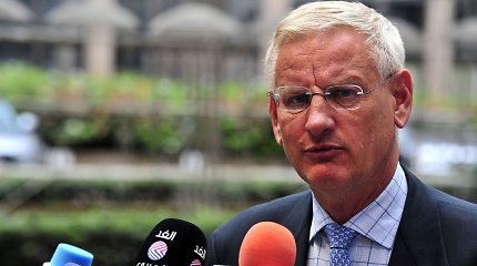 C.Bildtas: Baltijos kelias galingas, nes jame dalyvavo trys skirtingą istoriją turinčios valstybės