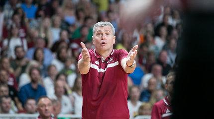 Geriausią rezultatą pasiekusi Latvija ieškos naujo trenerio