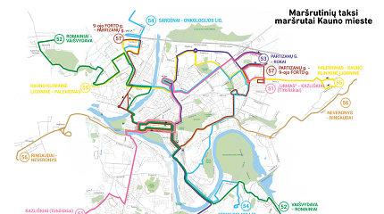 Kaune dalis mikroautobusų važiuos kitais maršrutais