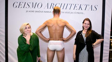 Vilniuje – karšta erotinio filmo premjera ir žiūrovių fotosesija su pusnuogiu vyru