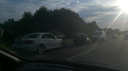 "Kauno rajone – ""Audi"" ir BMW kaktomuša"