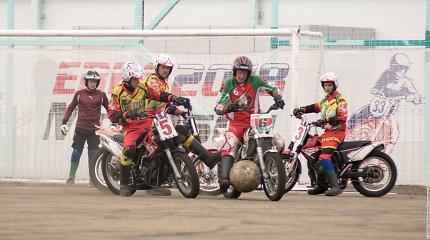 Europos motobolo čempionatas tiesiogiai rugpjūčio 6-12 dienomis