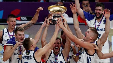 Sužibo viltis: Slovėnijai atsirado kelias prasimušti į olimpines žaidynes