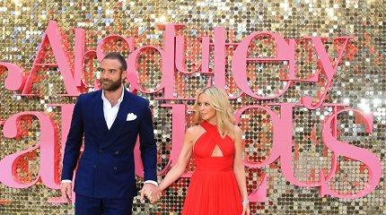 Kylie Minogue sužadėtinis emocingai papasakojo apie jų karštą romaną