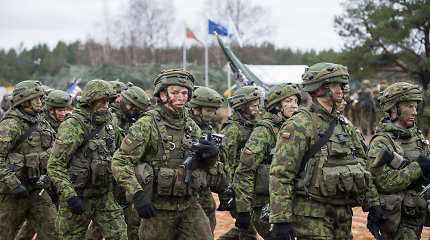 Į karinių mokymų operaciją Ukrainoje išvyko nauja Lietuvos karių pamaina