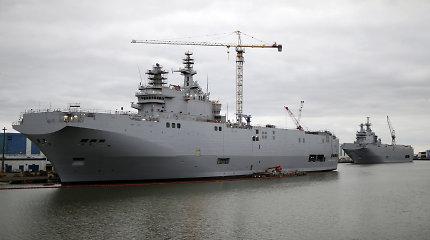 """Rusija dalyvauja sraigtasparnių tiekimo Egipto įsigytiems """"Mistral"""" laivams konkurse"""