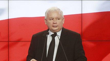 J.Kaczynskis pasisakė prieš Lenkijos prisijungimą prie euro zonos