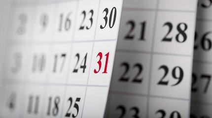 Kodėl savaitė trunka septynias dienas?