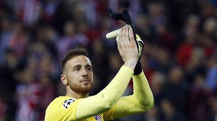 """Pavojaus signalai Madride: """"Atletico"""" nori palikti ir pagrindinis vartininkas?"""