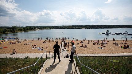 Narai Kauno Lampėdžių paplūdimyje ieškojo į krantą neparplaukusio paauglio