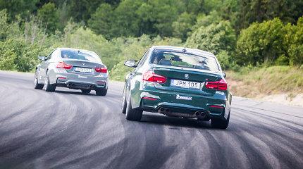 """""""BMW M dienoms"""" į Lietuvą atgabeno aštuonis išskirtinius automobilius"""