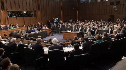 JAV Senatas patvirtino prezidento apkaltos teismo taisykles, nesutiko kviesti liudytojų