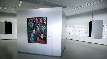 URM atidaroma išeivijos lietuvių meno paroda