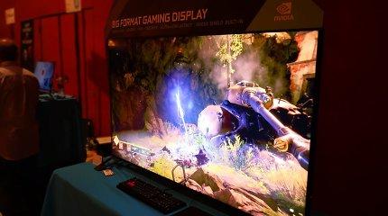 Žaidimų mėgėjo svajonė: 65 colių ekranas
