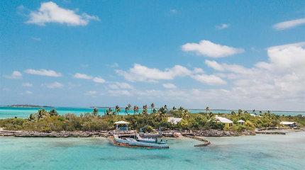 Karibuose parduodama rojų primenanti sala