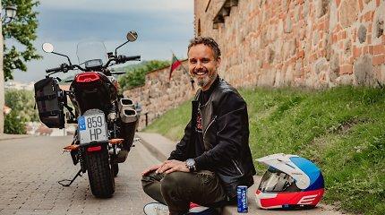 """Pasaulį per 40 dienų motociklu aplėkęs K.Mieliauskas: """"Kai keliauji intensyviai, baimei nėra vietos"""""""