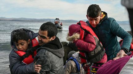 Turkija sako nebestabdysianti į Europą norinčių pabėgėlių