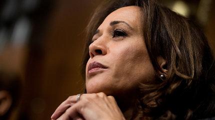 Senatorė Kamala Harris pranešė apie savo planus siekti JAV prezidento posto