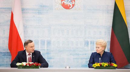 Lenkijos žiniasklaida apie A.Dudos ir D.Grybauskaitės susitikimą: esame arti sutarimo