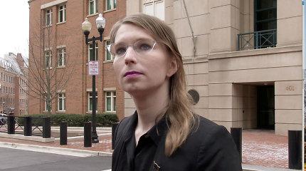 """WikiLeaks"" informatorė Chelsea Manning vėl pasiųsta už grotų"