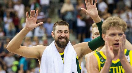 Lietuvos rinktinė – pajėgiausiame Europos čempionato atrankos burtų krepšelyje
