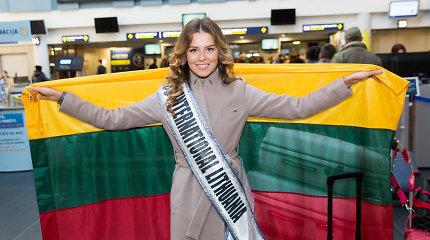"Grožio konkurse ""Miss International"" Lietuvai atstovavusi Patricija Belousova liko be karūnos"