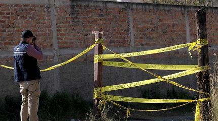 Meksikoje bendrame kape rasti 29 žmonių palaikai