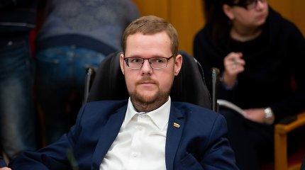 R.Karbauskio grasinimas išpildytas: J.Džiugelis prarado Neįgaliųjų teisių komisijos pirmininko postą