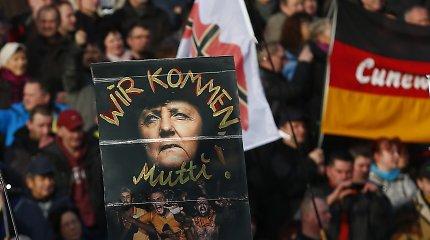 """Vokietijos žvalgybos agentūra atidžiau stebės """"anitkonstitucinį"""" judėjimą PEGIDA"""
