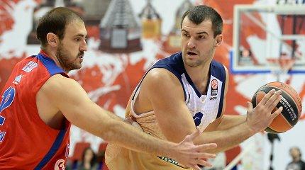 """Iš """"Neptūno"""" pradingęs Michailas Anisimovas grįžo į """"Budivelnyk"""" komandą"""