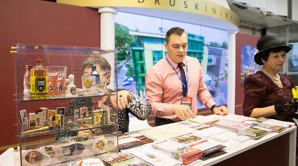 Tarptautinę turizmo parodą Vilniuje apkartino komunistiniai simboliai iš Druskininkų