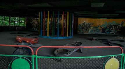 Apleistas Elektrėnų atrakcionų parkas