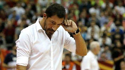 """Turkija atsisveikino su rinktinės treneriu, nors iki """"lango"""" – vos savaitė"""
