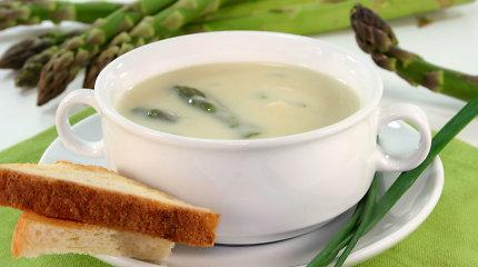 Pasotins, bet neapsunkins: trinta smidrų ir žiedinių kopūstų sriuba