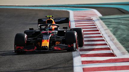 """Paskutinėje F-1 kvalifikacijoje – pirmoji Maxo Verstappeno """"pole"""" pozicija šiemet"""