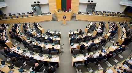 Sau naudingas pataisas stumia į priekį: lengvina kelią į parlamentą