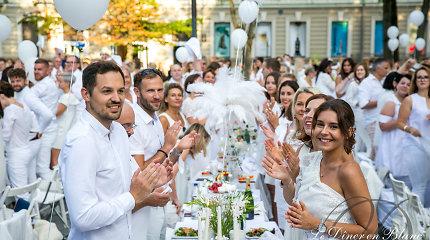 Skelbiama Baltosios vakarienės data: Vilniuje renginys vyks jau septintą kartą