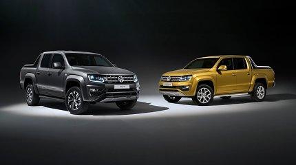 """""""Volkswagen"""" Frankfurte pristatė dvi """"Amarok"""" modifikacijas"""