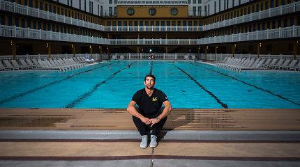 Sunkumus išgyvenęs visų laikų plaukimo čempionas turi, ką patarti kitiems