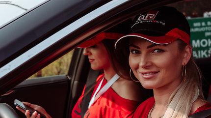 """""""Orlen Ladies GO Rally Elektrėnai 2020"""": alytiškių triumfas, dovanų lietus ir """"Auto asių"""" himno pristatymas"""