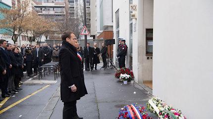 """Prancūzija paminėjo trečiąsias atakos """"Charlie Hebdo"""" redakcijoje metines"""