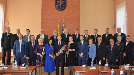 Varėnos rajono savivaldybėje darbą pradėjo nauja valdžia