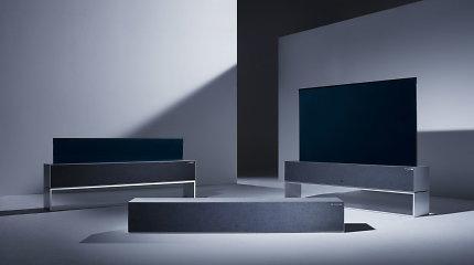 Sukurtas pirmas pasaulyje suvyniojamas televizorius: įsigyti galėsite dar šiemet