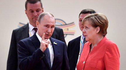 Turkijos, Rusijos, Prancūzijos ir Vokietijos lyderiai Stambule tariasi dėl Sirijos krizės