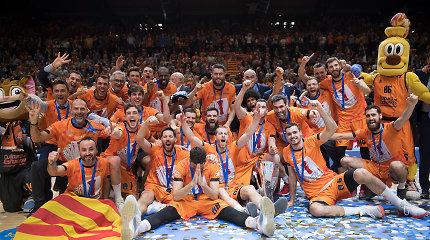 """R.Giedraičio šou neužteko – Europos taurę laimėjo ir Eurolygoje žais """"Valencia"""""""